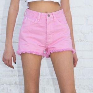 Rare Brandy Melville pink shorts